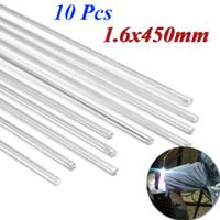 Wholesale 10Pcs mm x mm Aluminium Low Temperature Brazing Rods for Aluminium Repair