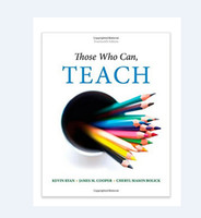 Wholesale Those Who Can Teach th Edition ISBN