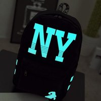 Wholesale Large Capacity Backpack Backpack Trendy Luminous Schoolbag