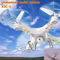 Wholesale X5c four axis aircraft high definition aerial unmanned aerial vehicle remote control aircraft ufo drone x5c