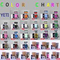 Wholesale New oz YETI Rambler Tumbler Cup Color Camo Color Bilayer Vacuum Insulation Cup Tumbler Mug