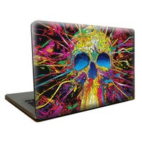 Wholesale For Macbook Air Pro Retina Cool Skull D Matte Case Full Protective Cover Case