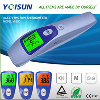 Wholesale Baby Adult Electronic Digital Multi Function Medical Termometro Non Contact Forehead Body Infrared Thermometer YI