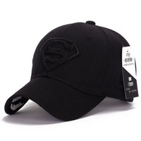 active teenager - Ball Cap Sun Visors Hat Unisex Adult or Teenagers Sports Caps Outdoor Sun Hat Superman Flat Hats for Golf Cap
