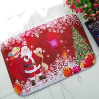 Wholesale 2017 Happy New Year Christmas ULTRA LIGHT soft pastoralism Living Room Carpet area rug OPP Package