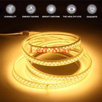 Wholesale SMD leds m Led Strip Lights AC V V Flexible Strips Led Tape Lights m ft White Body