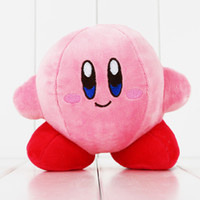 animal kirby plush - cm Game Star Kirby Soft Stuffed Animal Doll Fluffy Pink plush Doll for children s Gift