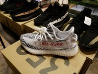 Wholesale Best SPLY Boost V2 New Kanye West Boost V2 SPLY Season Running Shoes Grey Orange Stripes