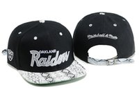 Wholesale new style Raiders Oakland Snapback Caps Adjustable Football Snap Back Hats Hip Hop Snapbacks High Quality Players Sports