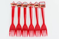 Wholesale Cars Theme Party Plastic Knives Forks Spoons Birthday Christmas Festival Party Decoration Supplies