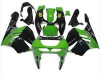 Nouvelle moto ABS Kits de carénage Fitment Pour KAWASAKI Ninja ZX9R 1994 1995 1996 1997 ZX-9R 9R 94 95 96 97 Carrosserie ensemble joli noir vert