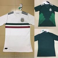 Wholesale DHL Mexico soccer jersey Mexican Football jersey Mexico soccer shirts AAA quality