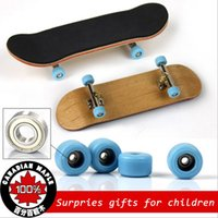 alloy wheels blue - Professional Game Fingerboard Maple Wood Finger Skateboard Alloy Bearing Wheel Fingerboard Novelty Skate De Dedo Fingerbord