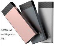Compra Los precios de la linterna-Energía móvil del polímero 5000 m Ah 5V / 2A rápido Cargador de la aviación del panel de la aleación de aluminio con la linterna llevada precios de fábrica