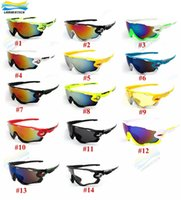Wholesale 14Colors Brand Polarized Cycling SunGlasses Mountain Bike Goggles Full Frame Cycling Eyewear Bicycle Sunglasses Cycling Glasses