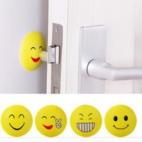 Wholesale Expression Emoji Round Corner Protectors Corner Cushions For Glass Tables Or Shelves With M Sticker Baby Safe DHL Free XL G45