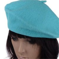 artist beach - Beret Beanie Winter Hat Ski Cap Gifts French Artist Beanie Hat Ski Cap For Sweet Girl New Spring Winter Lady Womens Wool Blend