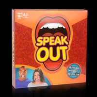 Wholesale 2016 Speak Out Game KTV party game cards for party Christmas gift newest best selling toy DHL