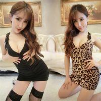 Wholesale Hot Women Off Shoulder Lace Floral Sexy Lingerie Underwear Plus size Underwear Dress Black White Nightwear QXC32