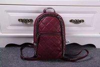 Wholesale stella small PVC falabella Fashion leisure bucket backpack luxury chian bag