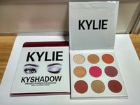anti creams - In stock New arrival THE BURGUNDY PALETTE Kylie Cosmetics Jenner Kyshadow eye shadow Kit Eyeshadow Palette Bronze Cosmetic Colors