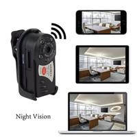 Wholesale HD Thumb Wifi DVR Wireless IP Camera IR Night Vision Portable Car Monitor Hidden Spy Camera Detection Camcorder Video Recorder