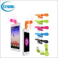 Wholesale Newest in Mini Micro USB Fan Portable Fan for Mobile Cell Phone iphone Android