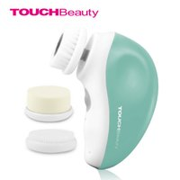 Wholesale TOUCHBeauty rotary electric facial cleansing brush USB rechargeable face brush travel kit TB
