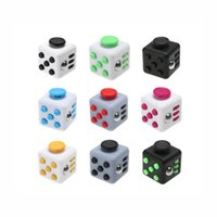 Wholesale Magic Fidget Cube Relieves Squeeze Fun Stress Reliever Anxiety and Stress Cube Juguet Desk Spin Toys for Adults Children