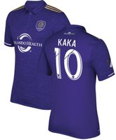Wholesale 2017 Orlando city KAKA home red Whosales top quality fast shipping soccer jerseys Quickly reach the football shirt
