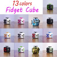 american horror - 2017 New Popular Decompression Toy Colors Fidget cube the world s first American decompression anxiety Toys