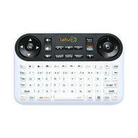 Wholesale LeFan T Mini Wireless Mouse and Keyboard F6 with Infrared Remote Control for PC Smart Television Set top box Laptop HTPC Y18983