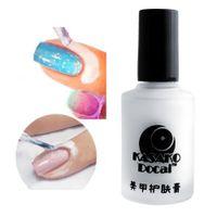Wholesale Fashion ml Peel Off Coat Liquid Tape Base Cream Nail Art Polish Separating Palisade Tool Manicure
