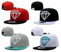 ball girl baseball - 2017 Diamond Kids Snapback caps Hats For Children Baby Baseball Cap Boys Girls Boy Hip Hop Hat bone Gorro Gorros rap aba reta