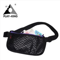 Wholesale Playking Running Waist Bag Waterproof Travel Sport Belt Money Wallet Pouch Thin Outdoor Sports Pack Hiking Mini Zip Bag Nylon
