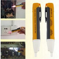 Wholesale AC Voltage Electric Tester Pen V Non Contact Volt Alert Sensor Detector LED Indicator High Quality