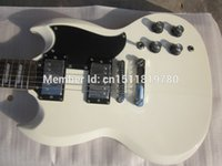 Cheap Free shipping Wholesale new G sg g400 guitar white color oem lp guitar  guitar in china
