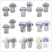 banks purples - Throwback Ron Santo Ernie Banks Billy Williams Fergie Jenkins Chicago Cubs Hemp Gray Vintage Baseball Jerseys By M N
