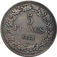 belgium collection - Belgium copy coins copper silver plated Art collection gifts Retro coins