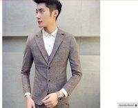 beige slate - SLATE grey New popular Slim Fit Groom Tuxedos Black Side Slit Groomsmen Mens Wedding Prom Suits Custom Made Jacket Pants Tie Vest