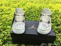 Air AA Jordania 4 Retro Premium Pinnacle Snakeskin Jordans Retros 4s Pinnacle Premium 819139 030 Zapatos de baloncesto con caja