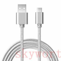 apple sync cable extension - Good Quality Ft M Micro usb Fabric Braided Nylon Sync Universal Micro USB Cable Cord Extra Long Extension For Samsung