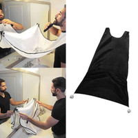 apron sinks - Man Bathroom Beard Care Trimmer Hair Shave Apron Gown Robe Sink Styles Tool Bathroom Apron Waterproof Floral Bib Cloth b536