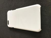 al por mayor caja de plástico brillante iphone-Para el iPhone 7 6 6s más 5 5s 4 4s caso en blanco DIY sublimación en blanco caso blanco brillante cubierta de plástico duro