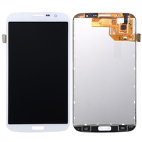 Cheap For Samsung Galaxy Mega 6.3 LCD Touch Screen Digitizer Display Assembly With or Without Frame I9200 Screen Repair Parts