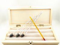 alcohol hydrometer - Alcoholmeter wine measuring instrument alcohol measurement instrument alcohol Hydrometer Set Alcohol Meter with Thermometer