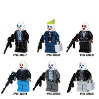 Wholesale Marvel Mini Figures Building Blocks Super Hero Dark Knight Counterparts Mask for Years Kid Minifigure toy