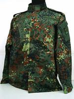 Wholesale CS game combat uniforms breathable outdoor training men camouflage suit