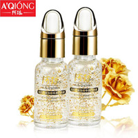 Wholesale 24k Pure Gold Foil Essence Whitening Moisturizing Hyaluronic Acid Liquid Day Cream Anti sensitive Lifting Firming