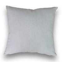 Wholesale 18 inches sqaure blank cotton natural plain linen pillow case linen pillow cover for DIY prints